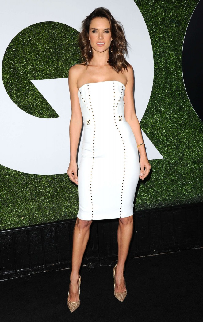 Alessandra Ambrosio - Sexiest Celebrities at the GQ Men of the Year Party 2015 in LA