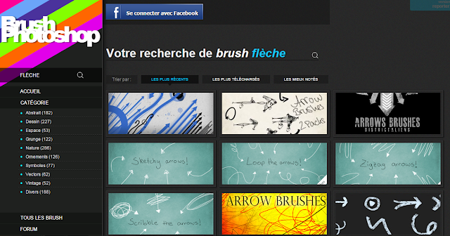 site de brush pour photoshop
