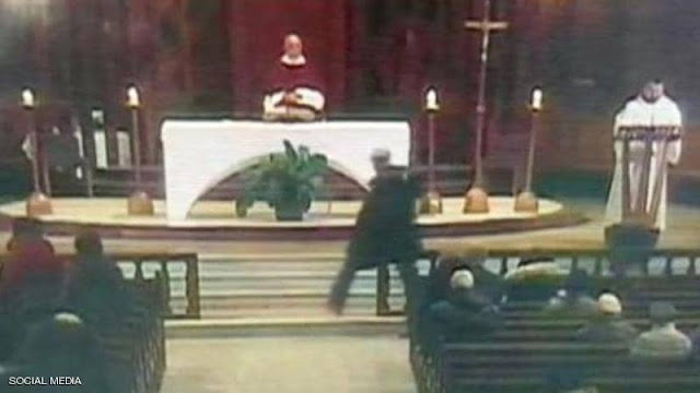 "A ""terrifying"" shot of a Canadian priest"