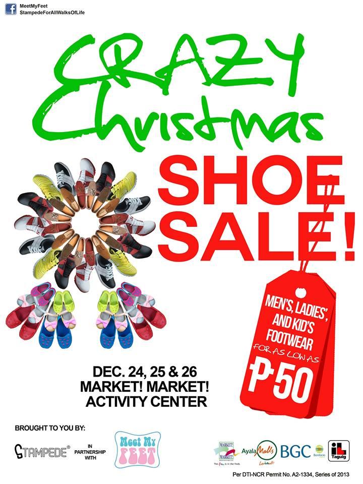 Crazy Christmas Shoe Sale @ Market! Market! Activity ...