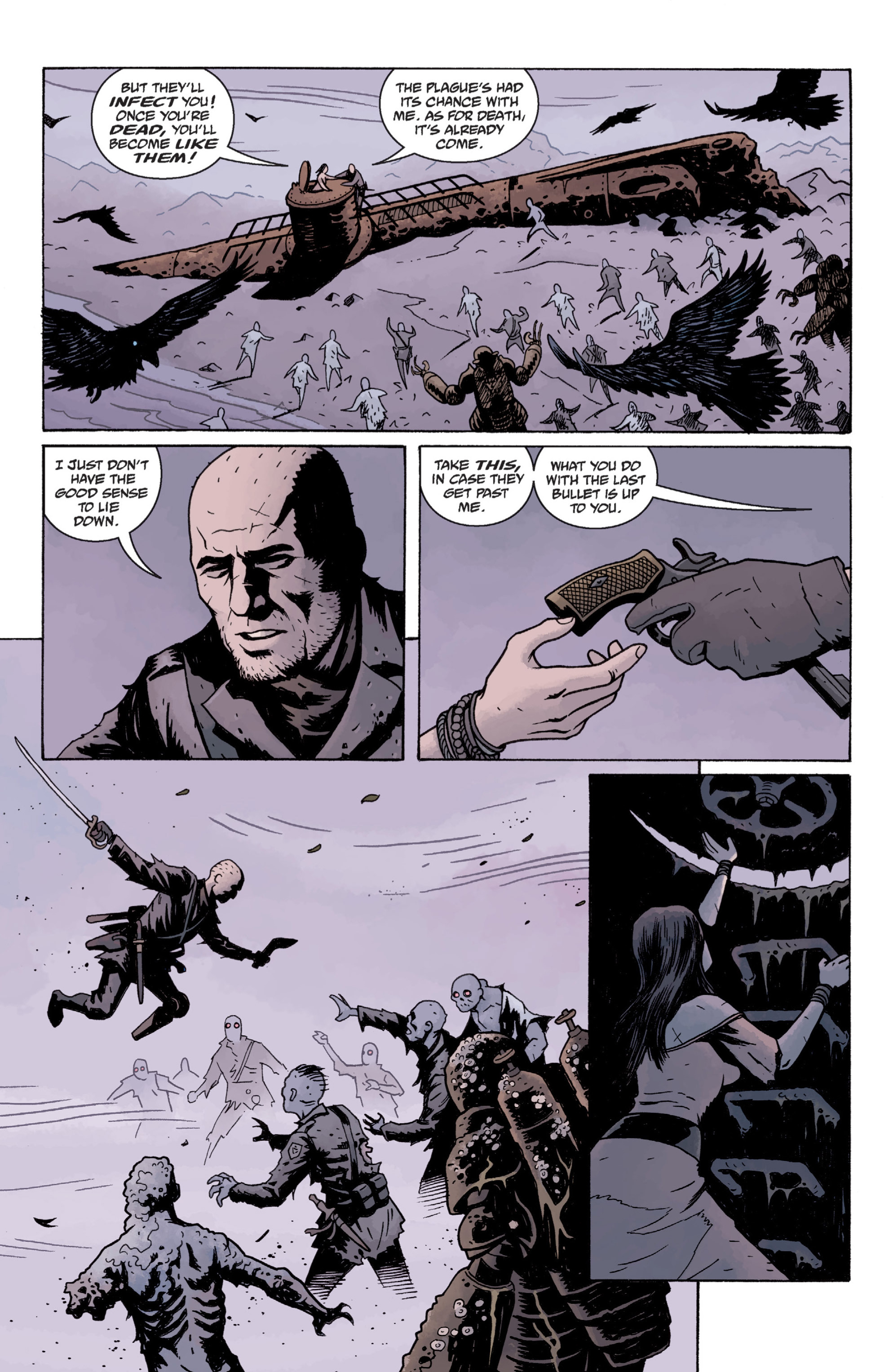 Read online Baltimore: The Plague Ships comic -  Issue # TPB - 117