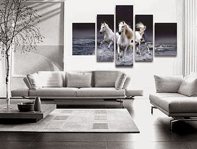 Living room wall art Ideas: 20 Posters and paintings