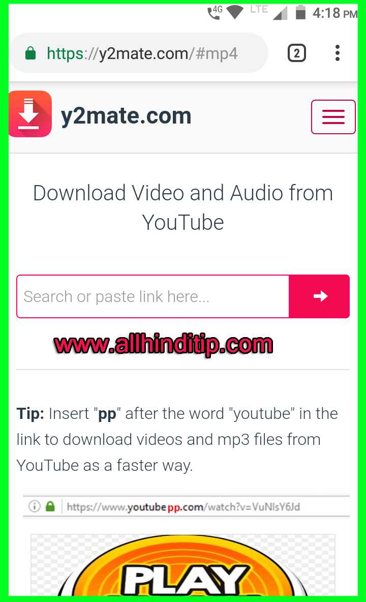 All Hindi Tips