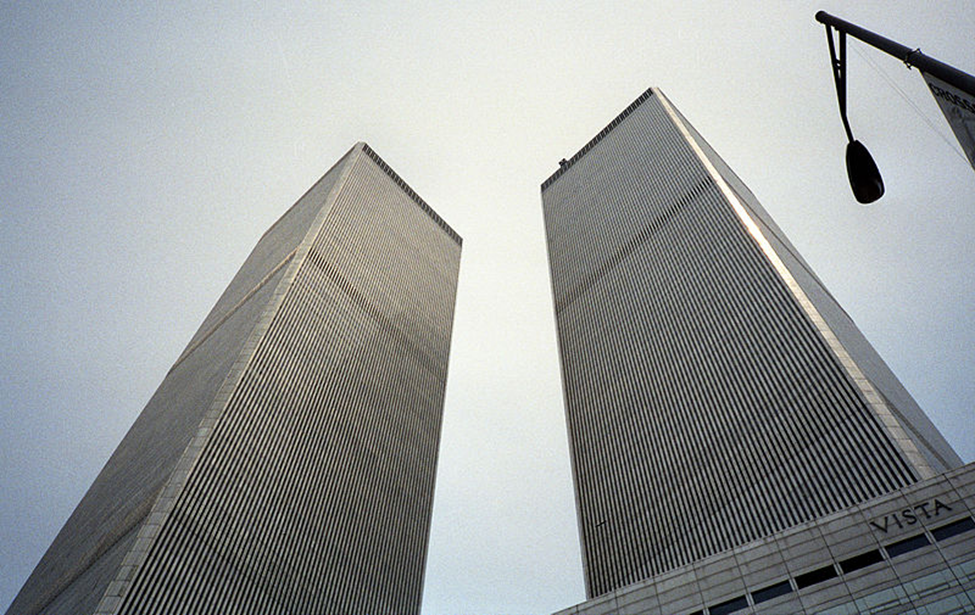 Twin Tower World Towers North Center Trade