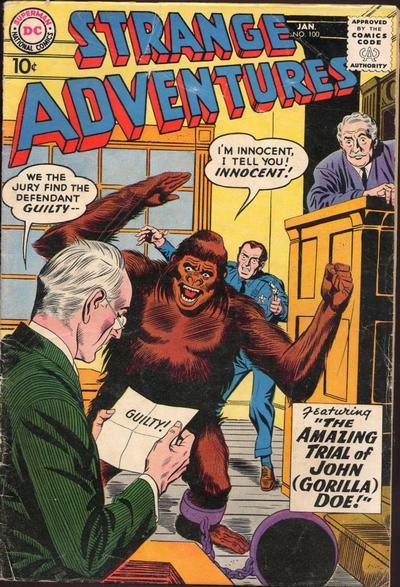 Strange Adventures (1950) issue 100 - Page 1