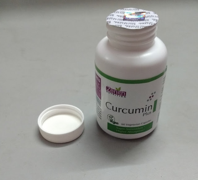 Zenith Nutrition's Curcumin Plus 60 Vegetarian Capsules Review and Pictures