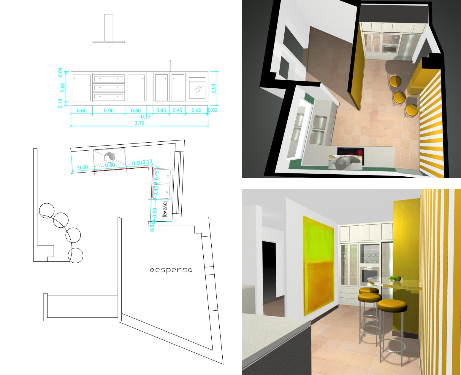 Ideas de arquitectura: Diseño de cocinas