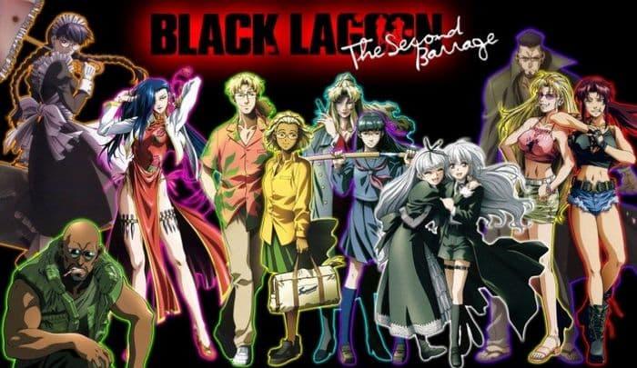 جميع حلقات انمي Black Lagoon The Second Barrage S2 الموسم الثاني مترجم على عدة سرفرات للتحميل والمشاهدة المباشرة أون لاين جودة عالية HD