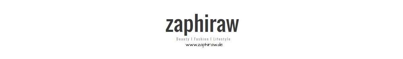 zaphiraw I Der Blog für Beauty, Fashion & Lifestyle aus Hamburg