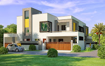 3d Houses With Amazing Decoration And Styles
