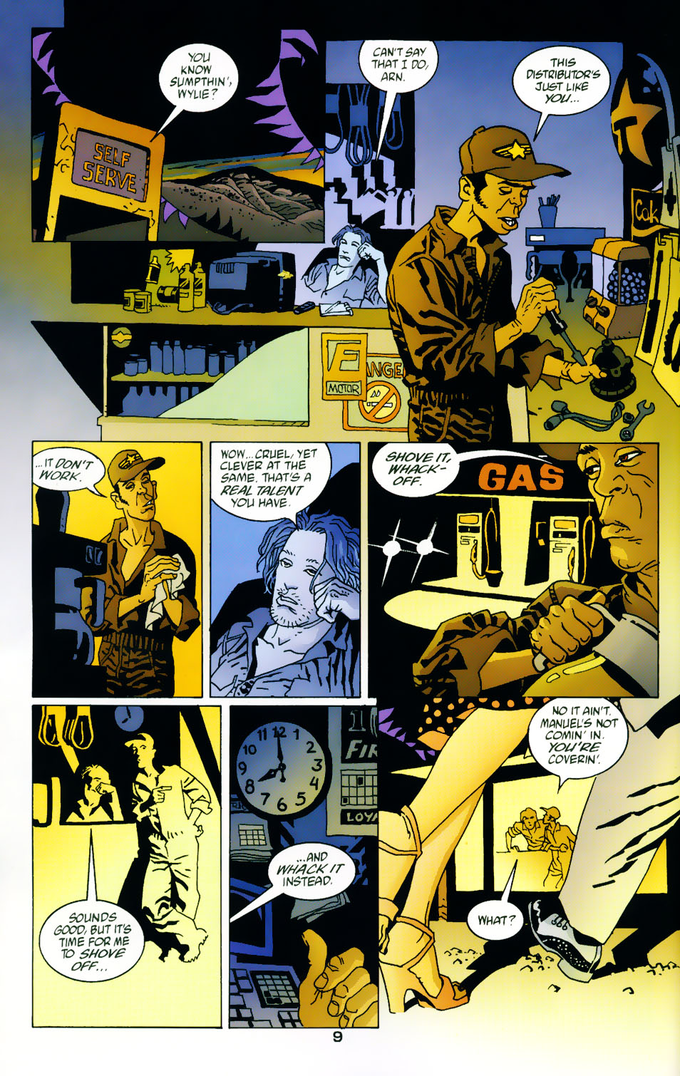 Read online 100 Bullets comic -  Issue #42 - 11