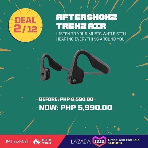 Aftershokz Trekz Air earphones at Php5,990