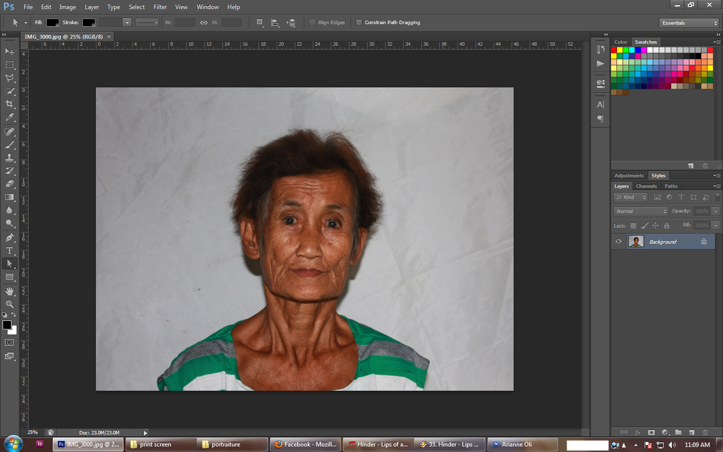 How to make an ID picture ( 2x2, 1x1 ) in Adobe Photoshop CS 6 for ...
