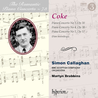 Roger Sacheverell Coke - Piano Concertos - Hyperion
