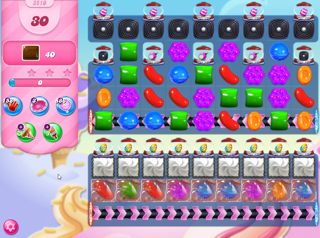Candy Crush Saga level 3510