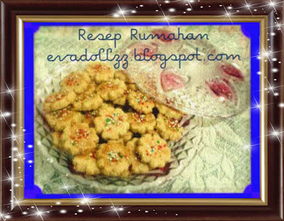 Resep Kue Kacang Super Lembut (Peanut Cookie)