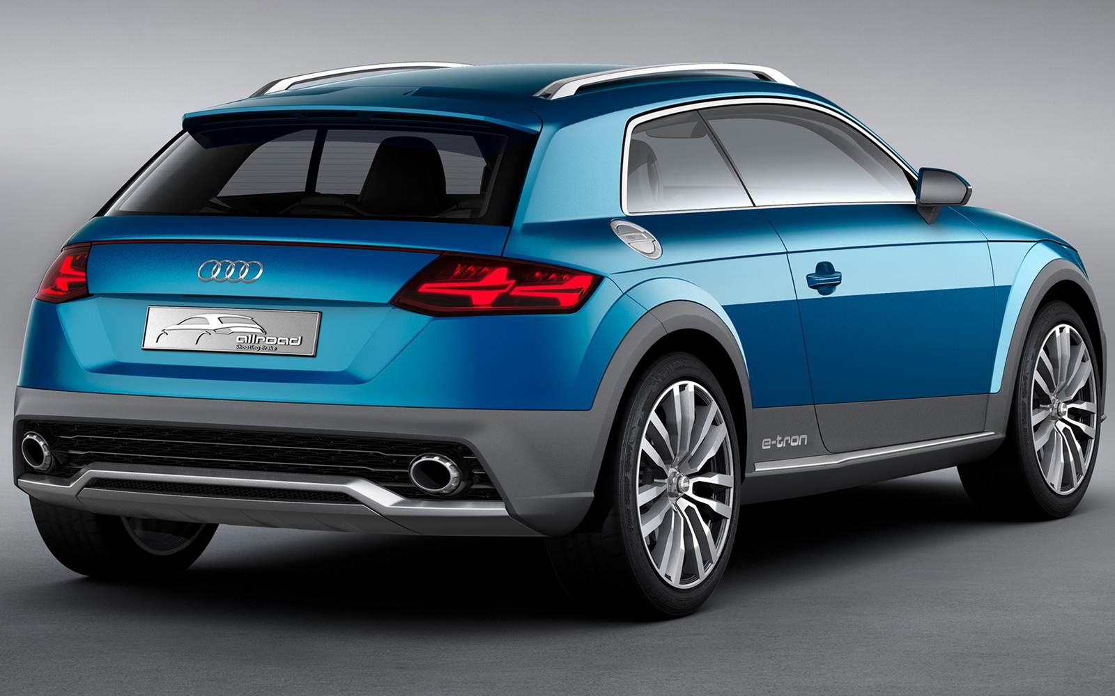 Audi Allroad Shooting Brake Antecipa Os Novos Q1 E Tt