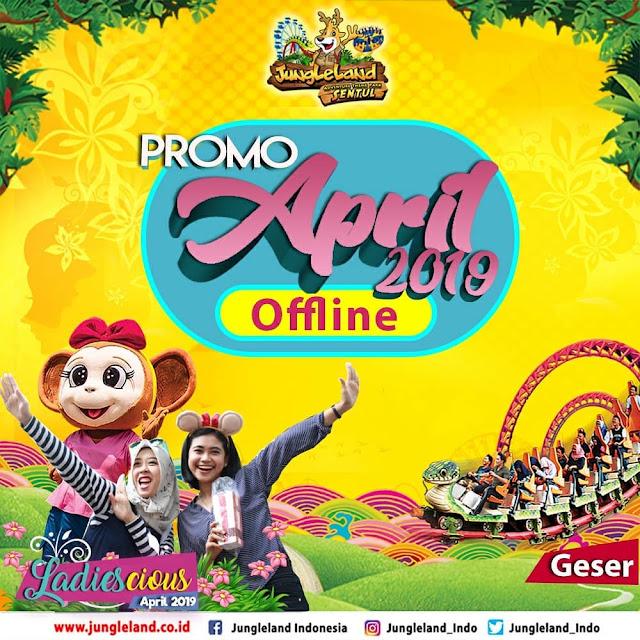 #JungleLand - #Promo April 2019 , Diskon Pelajar 50% , JumatAnd , Buy2Get1 Free dll