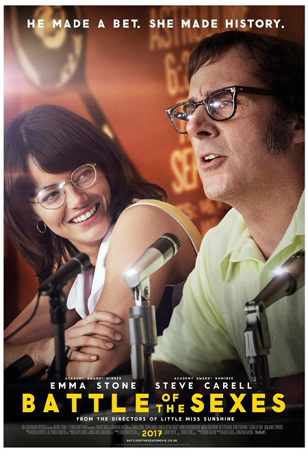 Battle of the Sexes (La Batalla de los Sexos) (2017) 720p WEBRip 4GB mkv Dual Audio AC3 5.1 ch