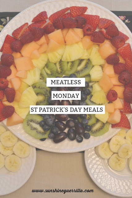 meatless monday st patrick's day meals vegetarian recipe ideas