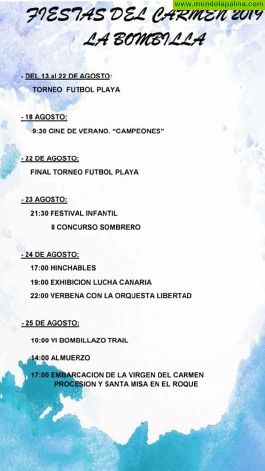 Fiestas del Carmen en La Bombilla 2019 - Tazacorte