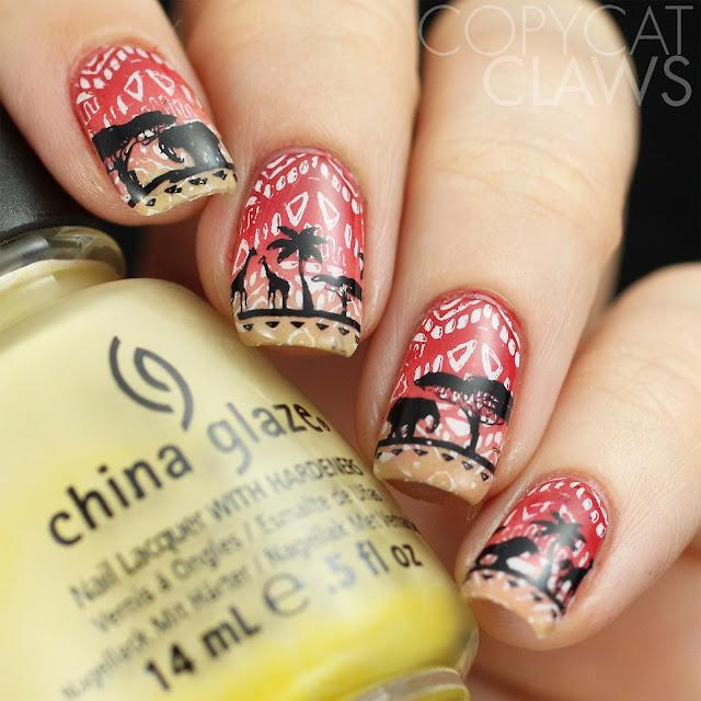 Africa Nail Stamping