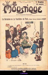 Le Moustique, Journal Humoristique Hebdomadaire, numéro 2, année 1931