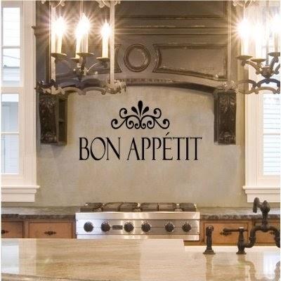 inspirational ideas for kitchen designs wall decor | Art Wall Decor: Contemporary Kitchen Stencils Designs ...