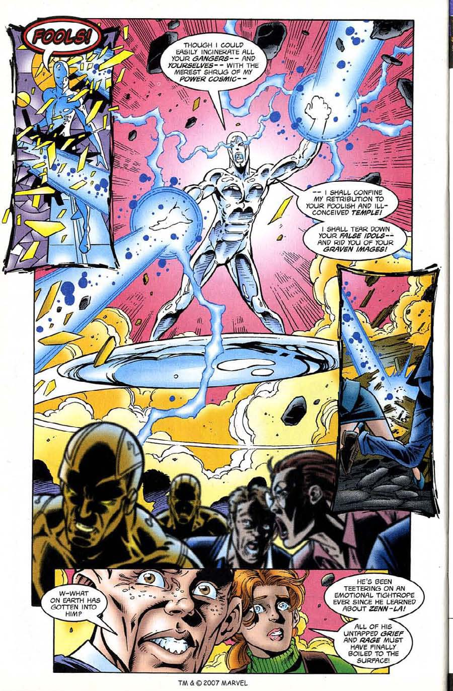 Read online Silver Surfer (1987) comic -  Issue #132 - 32