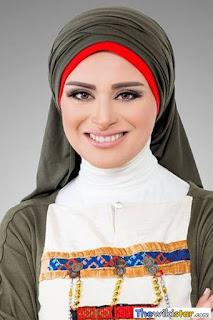 لمياء عبد الحميد (Lamiaa Abdel-Hamid)، مذيعة مصرية