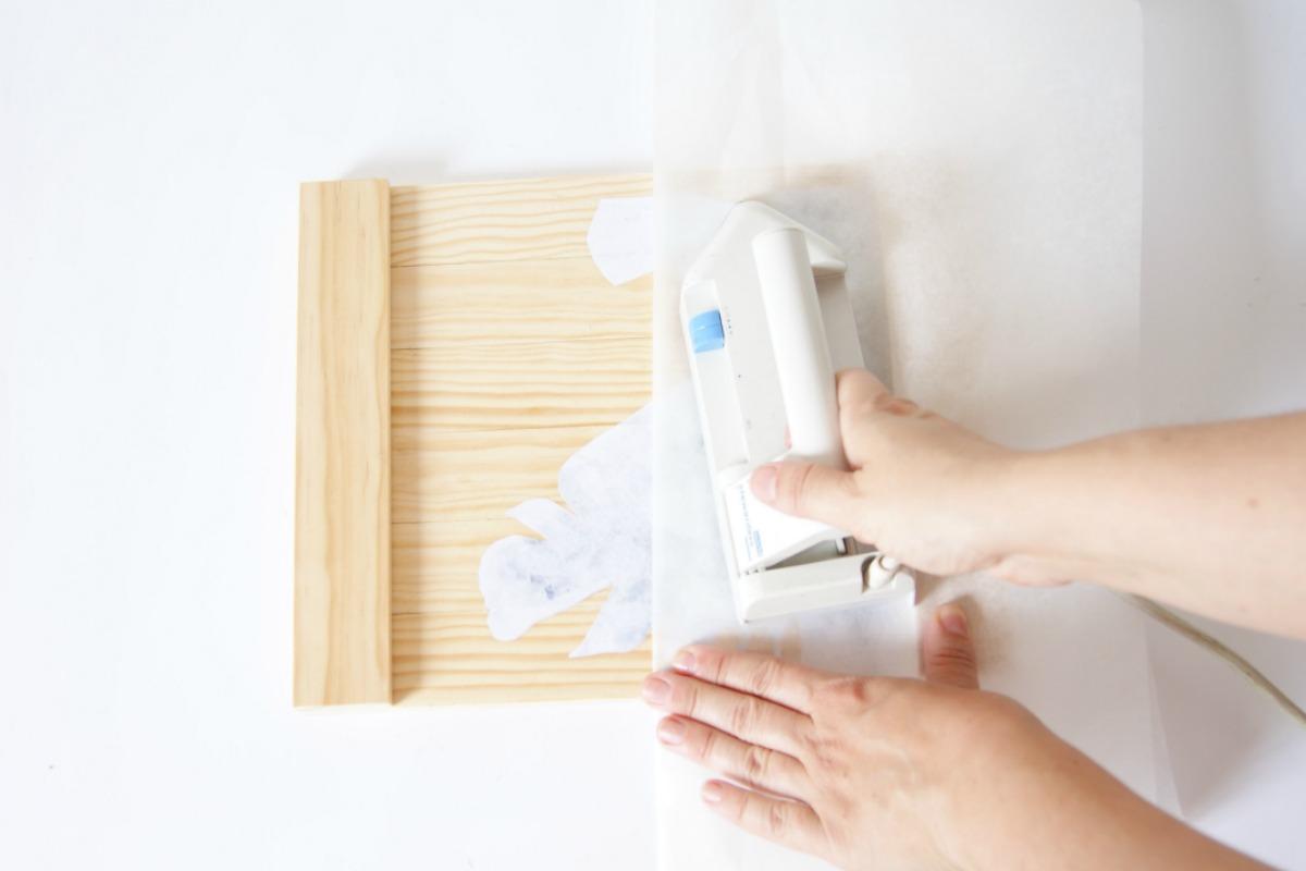 como hacer transfer en madera