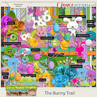Kit : The Bunny Trail  by Clever Monkey Graphics