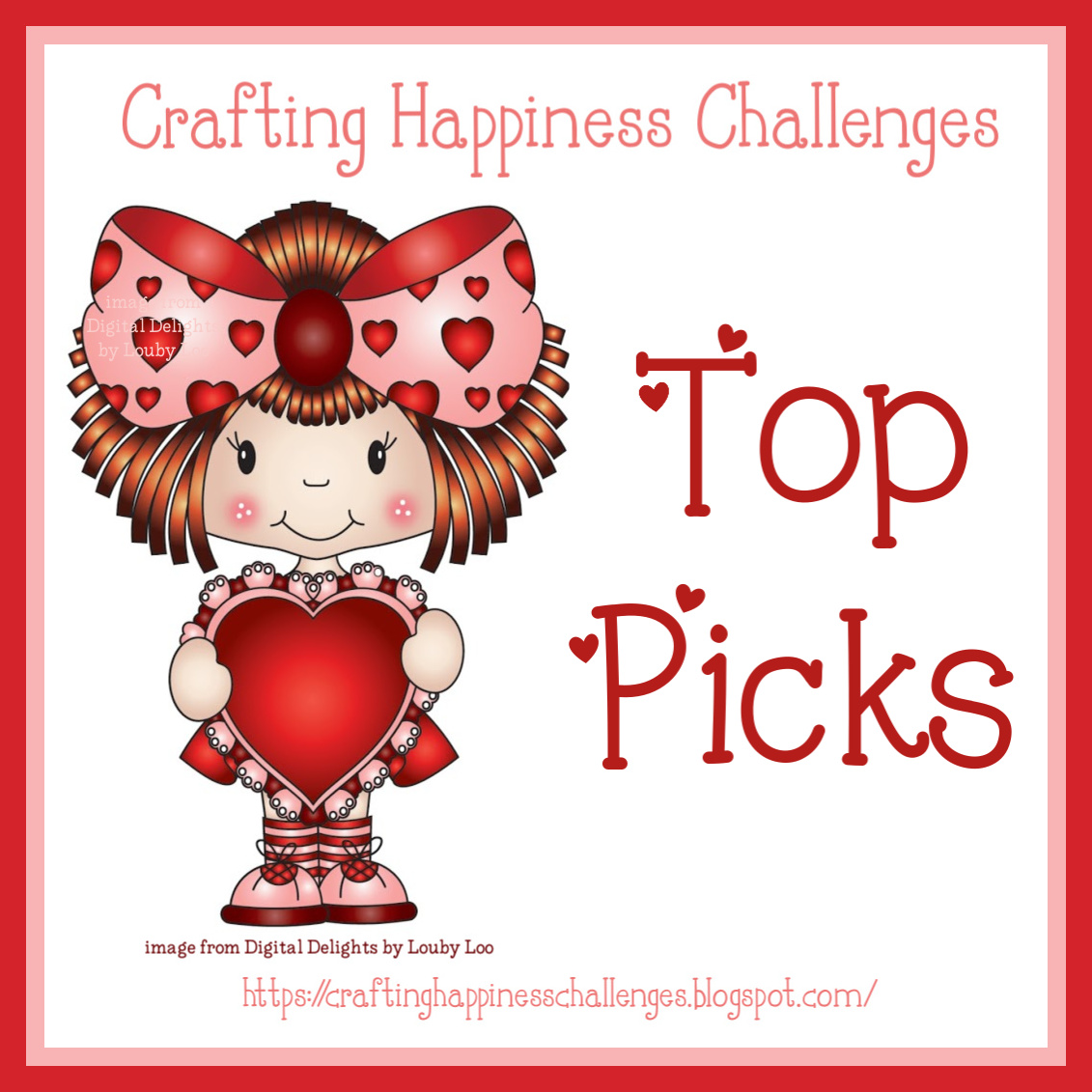 I Won a Top Pick at Crafting Happiness