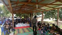 Ibadah Jumat Agung, Crew Radio Samosir Green Melayani Bersama Jemaat HKBP Buhit