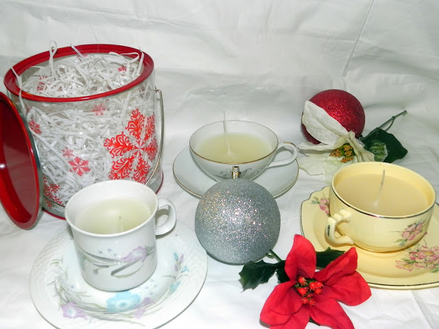 Diy Teacup Candles Instructions