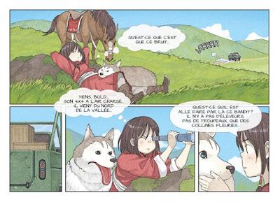Kushi tome 1 - Le lac sacré - un scénario de Patrick Marty