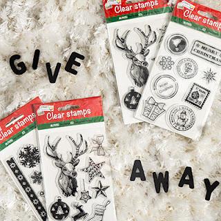 Give Away: Zwei mal zwei Set weihnachtliche Stempel