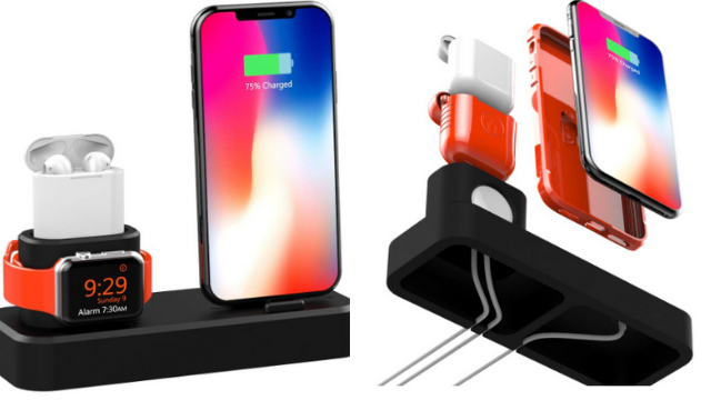 Harpi Portable 3in1 Charging Stand Station