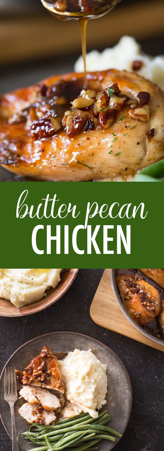 NEW BUTTER PECAN CHICKEN