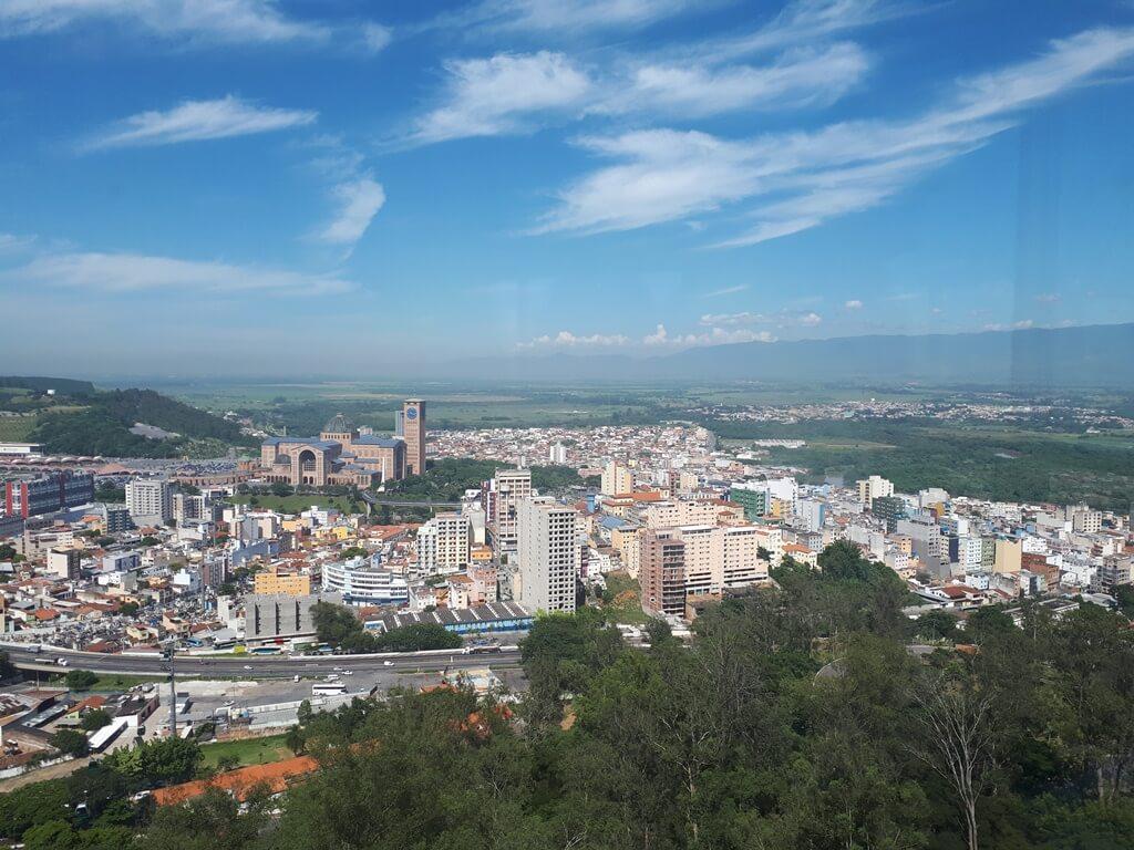 Vista da Torre Mirante do Morro do Cruzeiro Aparecida
