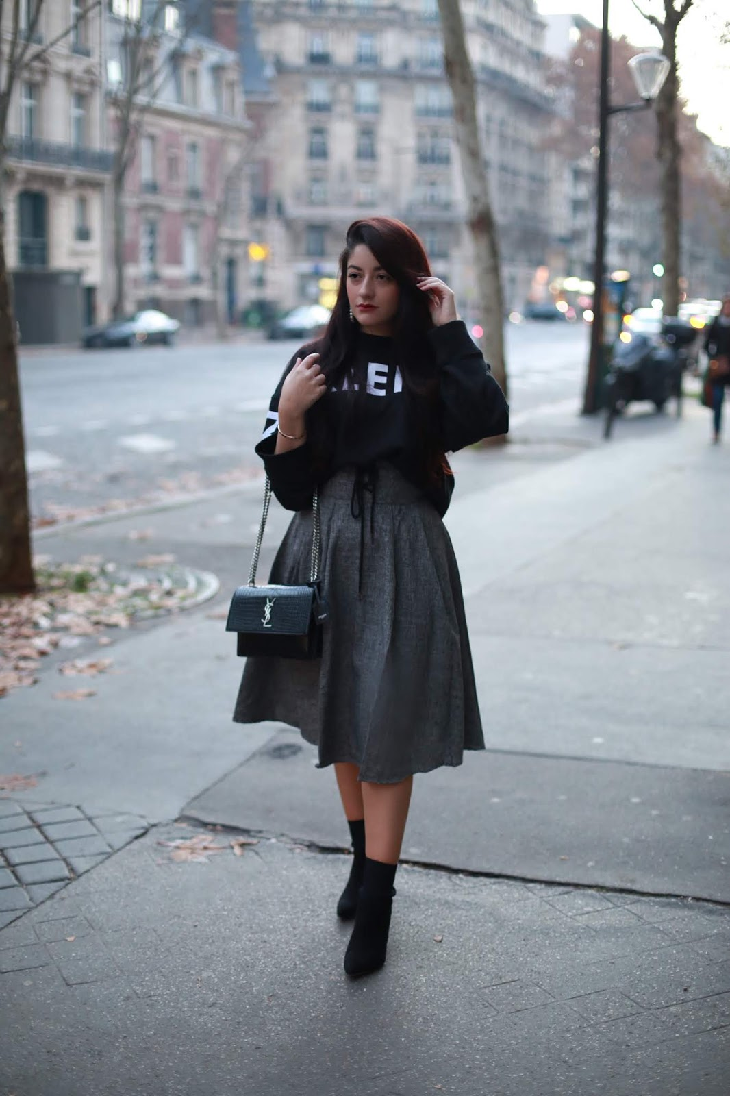 look casual chic Calvin Klein blog mode