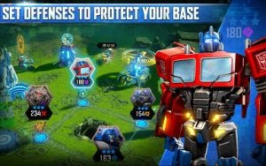 TRANSFORMERS Forged to Fight