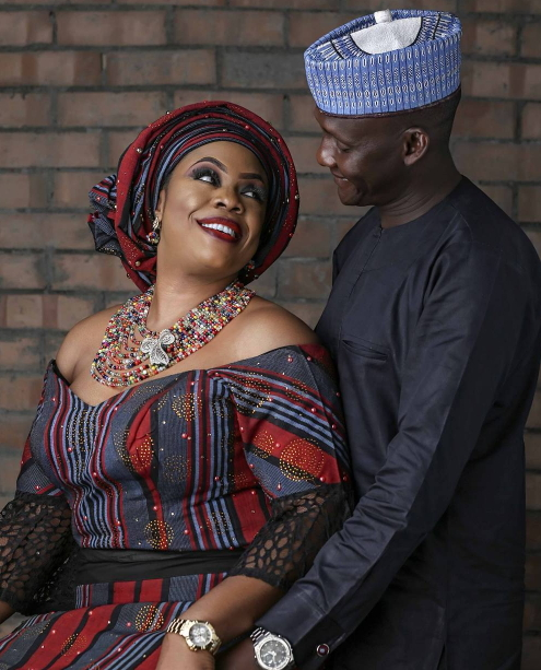 dolapo badmos renewal of wedding vow