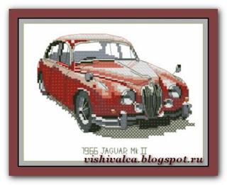 "Heritage Crafts Серия: Companions ""1966 Jaguar Mk II"""