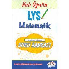 Editör LYS Matematik Öğretmenin Kaleminden Soru Bankası (2017)