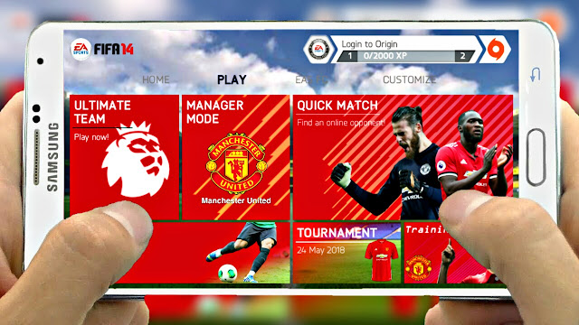 Download FIFA 14 MOD FIFA 18 Android With Commentary  Offline
