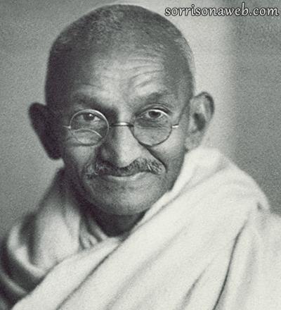 Mahatma Gandhi - Sorriso na Web