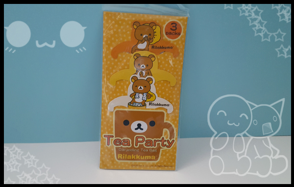 Rilakkuuma Tea Party Darjeeling Tea bags,