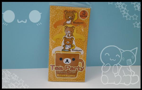 Rilakkuuma Tea Party Darjeeling Tea bags,