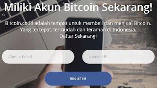 Cara daftar wallet bitcoin indonesia